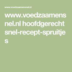 www.voedzaamensnel.nl hoofdgerecht snel-recept-spruitjes
