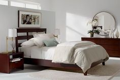 ethanallen.com - Modern Serene Bedroom   Express   Ethan Allen   furniture   interior design