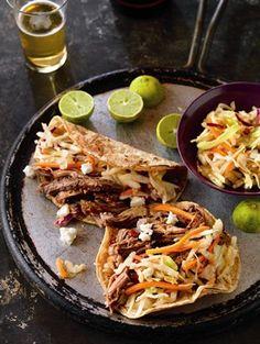 Beer Braised Spicy Tacos! Delish!