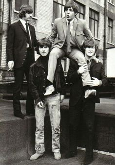 """""""Real funny, John--you know I'm tweaking!!!"""" Georgey boy, come on, help me down.... George!"""""""