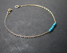 turquoise bracelet turquoise beads bracelet by sticksandstonesny