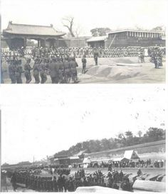 State funerals of Empress Dowager Cixi 慈禧太后 and the Guangxu Emperor.