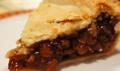 My gram always made raisin pie.  Her recipe was kept in her head.  My gramps would crimp the crust - the closest he ever got to cooking anything.  This raisin pie is made with vinegar, balancing out the inherent sweetness of the raisins