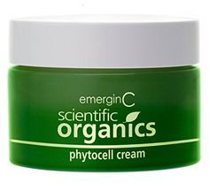 emerginC Scientific Organics  Phytocell Cream Anti Aging Hydrating and Brightening Cream Infused with Grape Stem Cells for All Skin Types 50ml  16oz >>> You can find more details by visiting the image link.