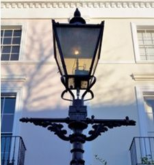Welsbach Victorian Gas Street Lamp Philadelphia C 1890 Victorian Gas Light Street Lamp