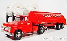 I played with tonka trucks too