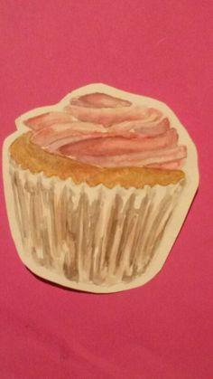 My cupcake Cupcake, Muffin, Breakfast, Artwork, Desserts, Food, Morning Coffee, Tailgate Desserts, Muffins