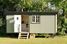 the-wall-bed-hut-riverside-shepherd-hut | A traditionally-designed shepherds hut in Worcestershire, England. Designed by Riverside Shepherd Huts