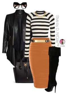 """""""Untitled #2819"""" by stylebydnicole ❤ liked on Polyvore featuring City Chic, Michael Kors, Boohoo and Prada"""