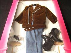 Barbie Fashion Avenue Ken Brown Suede Outfit 1995 14677 | eBay
