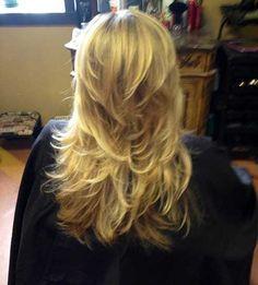 Long Hair with Choppy Cuts