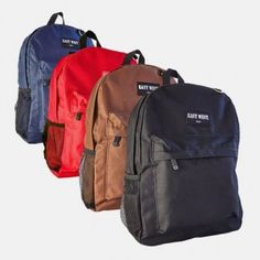 East West Solid Student Backpack for $9.99 Shipped – Normally $25!