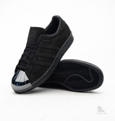 "Darth Vader's shell toes adidas Originals Superstar 80′s ""Metal Toe"""