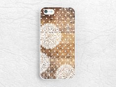 Vintage Girly floral Wood print Phone Case for iPhone 6 iPhone 5 5s, Sony z1 z2 z3, LG g3 g2 nexus 6, Moto g Moto x, white dots pattern -G13