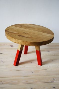 coffee table OAK MARSALA by projekt drewno made in Poland on CROWDYHOUSE