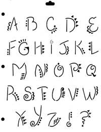 Letras Vinyl Letters began so as to produce signs. Hand Lettering Alphabet, Doodle Lettering, Creative Lettering, Lettering Styles, Alphabet Fonts, Doodle Fonts, Writing Styles Fonts, Graffiti Alphabet, Different Writing Fonts