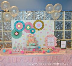 confetti birthday party