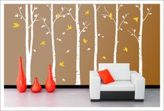 Stunning-Tree-Branch-Wall-Art-Decal-Removable-Vinyl-Stickers-Mural-Home-Decor