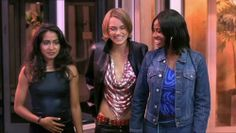 """Parminder Nagra & Keira Knightley & Tricia Marie """"Shaznay"""" Lewis (from Bend It Like Beckham Shaznay Lewis, Parminder Nagra, Watermelon Festival, Bend It Like Beckham, Going Out Tops, Keira Knightley, Skin Tight, Lace Bralette, Dance Outfits"""