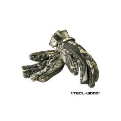 #New #TECLWOODCamo TECL-WOOD Functional Camouflage Hunting Gloves