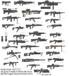 Rifles by Pimp My Gun 14 by c-force.deviantart.com on @deviantART