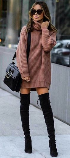 Overknee-Stiefel / Streetstyle Mode / Modewoche Overknee Boots / Streetstyle Fashion / Fashion Week & The post Overknee Boots / Streetstyle Fashion / Fashion Week appeared first on Katherine Levine. Fashion Mode, Fashion Week, Look Fashion, Teen Fashion, Fashion Outfits, Fashion Boots, Fashion Clothes, Fashion Fall, Womens Fashion