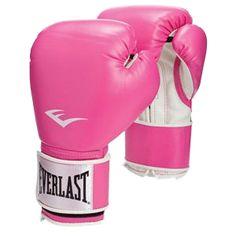 free pink kickboxing gloves