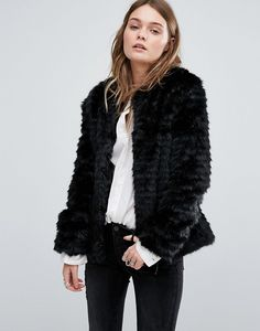 Vero moda kunstpelz mantel