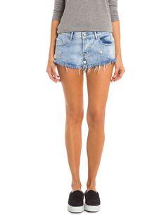 Shorts Ginny Feminino - T-Ishida - Azul Claro - Shop2gether