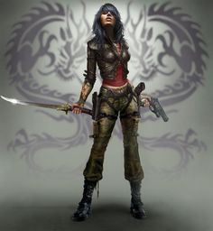 Female Ninja Assassin | Games Mentioned In This Article