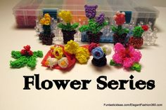 Rainbow Loom Mother's Day gift ideas: Flower Series  ♥Subscribe YouTube Channel:  https://www.youtube.com/user/ElegantFashion360  ♥ Sing up for Newsletter: http://elegantfashion360.com