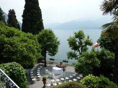 Our wedding in Villa Cipressi garden