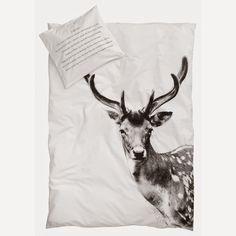 deer duvet cover // http://www.bynord.com/dk/shop/sovevaerelse