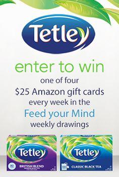 Tetley Tea Gift Card Giveaway