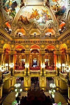 Palais Garnier - Paris Opera by K P, via 500px