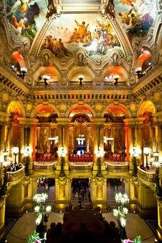 Palais Garnier - Paris Opera by K P,