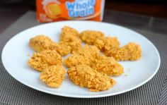 This kid friendly recipe for goldfish encrusted nuggets is sure to wow your children! Learn how to make them for your kids today.