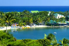 St. James Club & Resort in Antigua - love those crystal clear waters of the Caribbean!