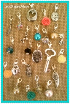 Create a unique look using Origami Owl Dangles~ Memory Keepers ~ Origami Owl Living Lockets ~ Bren Yule
