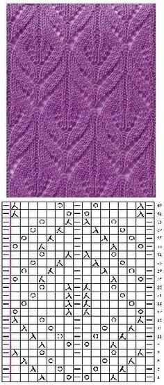 This Pin was discovered by Jan Lace Knitting Stitches, Lace Knitting Patterns, Knitting Books, Knitting Charts, Lace Patterns, Baby Knitting, Drops Design, Free Pattern, Crochet Turtle