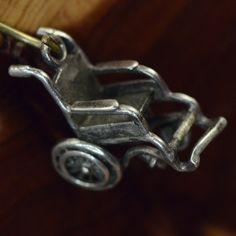 Vintage Sterling Silver 3D Wheelchair 2G Charm Pendant PW381 | eBay