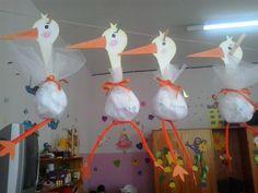 Kids Food Crafts, Animal Crafts For Kids, Spring Crafts For Kids, Summer Crafts, Bird Crafts, Diy And Crafts, Kindergarten Activities, Activities For Kids, Baby Girl Christening