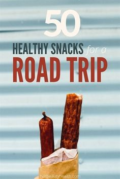 Road trips can be expensive if you need to stop for food every so often. Instead of buying processed and boxed food, try these healthy road trip snacks! #VacationsIdeas