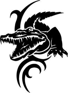 Tribal_Alligator_Decal_Stickers_05__31734_zoom.jpg (400×543)
