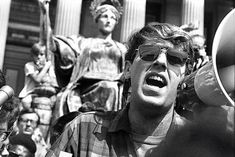 Mark Rudd led student protests at Columbia University in North Vietnam, Vietnam War, Bob Dylan Songs, Steve Miller Band, New York Photos, Revolutionaries, Old And New, Vignettes