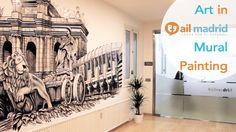 ¡Descubre cómo se hizo el increíble #mural del área de descanso de #AIL #Madrid!  Para saber más sobre AIL Madrid, visita nuestra página web: www.ailmadrid.com --------------------------------- Watch the making of the amazing mural in AIL Madrid's break room!  To learn more about AIL Madrid, visit our website: www.ailmadrid.com  #art #painting #wall