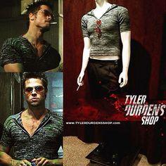 63773e30f Fight Club Project Mayhem shirt Tyler Durden, Fight Club, Club Outfits,  Brad Pitt