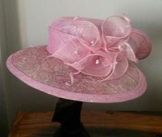 179aaf3f Sinamay Hats, Millinery Hats, Fascinator, 1940s Hats, Holiday Hats, Bridal  Hat