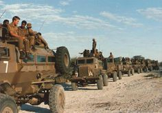 Band of Brothers – 101 Romeo Mike 101 Battalion unit in action somewhere on the Angolan/South West Africa (Namibia) border. Military Humor, Military Service, Military Life, Military History, Army Vehicles, Armored Vehicles, Once Were Warriors, West Africa, South Africa