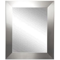 """Ailey Silver Wide 39 1/2"""" x 45 1/2"""" Wall Mirror"""
